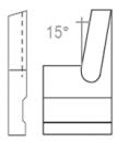 Cuchilla mecanizado interior A4