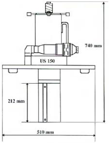 US150 dimensiones
