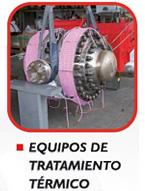 Alquiler equipos de tratamiento térmico