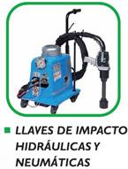 Alquiler llaves de impacto hidráulicas y neumáticas