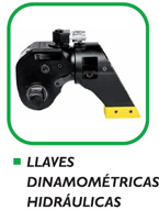 Alquiler llaves dinamométricas hidráulicas