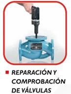 Alquiler reparación y comprobación de válvulas