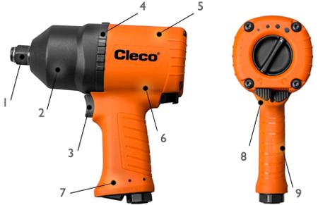Llave impacto Cleco CWC