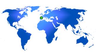 Mapa oficina Kalmia,S.A.