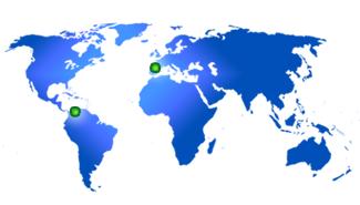 Mapa oficinas Kalmia,S.A.