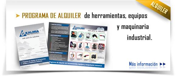 Programa de alquiler de equipos industriales