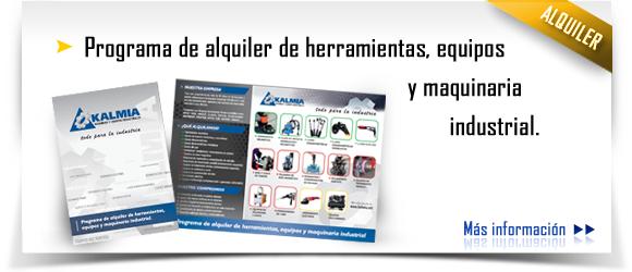 Alquiler equipos industriales