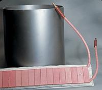 Resistencia cerámica tipo cinturón (precalentamiento)